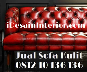 jual sofa kulit asli genuine leather