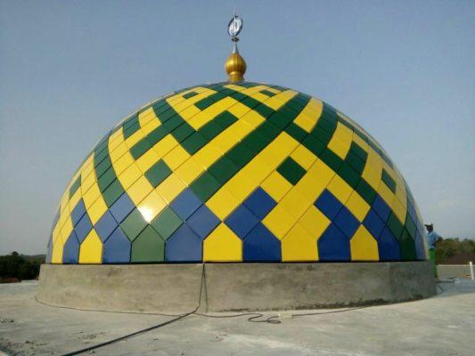 Harga Kubah Masjid GRC Per Meter